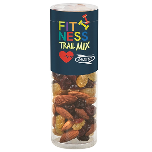 Healthy Snack Tube With Fitness Trail Mix (Small)