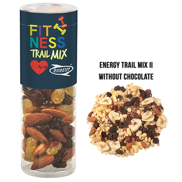 Healthy Snack Tube With Energy Trail Mix II (Small)