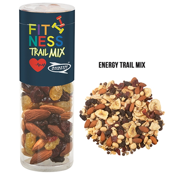 Healthy Snack Tube With Energy Trail Mix (Small)