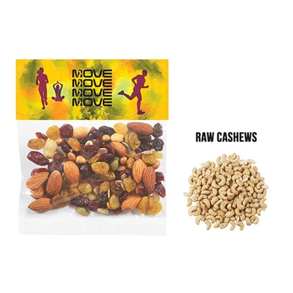 Header Bag - Raw Cashews (2 Oz.)
