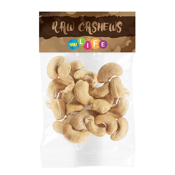 Raw Cashews in Header Bag (1 Oz.)
