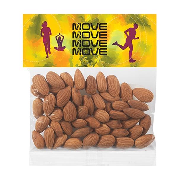 Header Bag - Raw Almonds (2 Oz.)