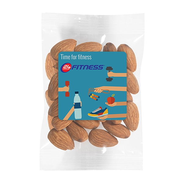 Promo Snax - Raw Almonds (1 Oz.)