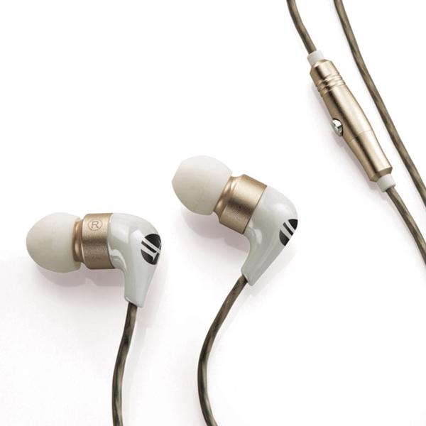 Brookstone(R) Ceramic Earbuds