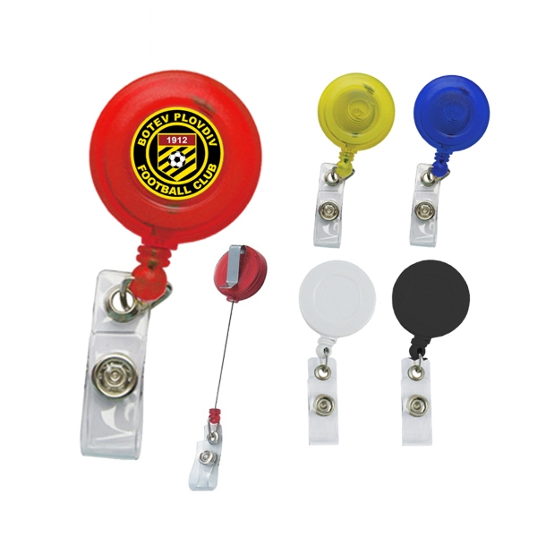 Round Badge Holder with Full color process