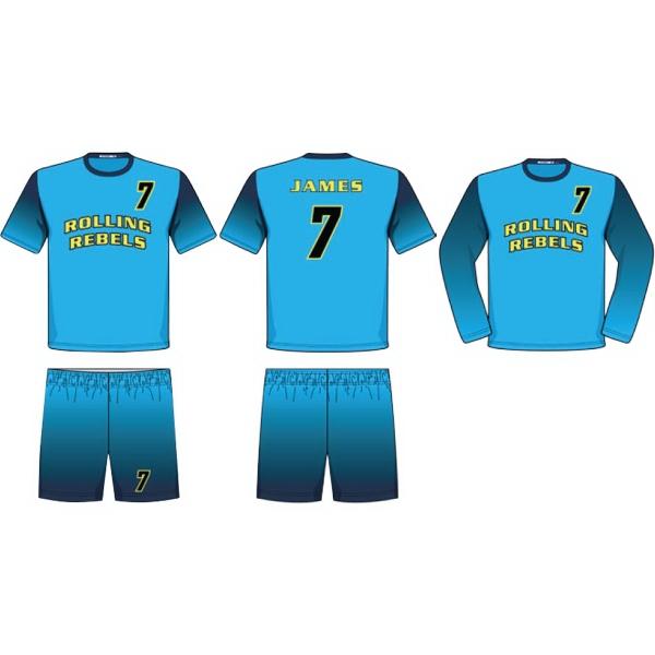 Men's Juice Short Sleeve Volleyball Jersey