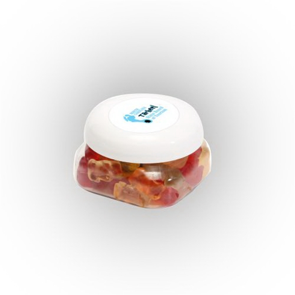 Gummy Bears in Small Snack Canister - Gummy Bears in Small Snack Canister