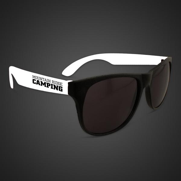 White Retro Sunglasses