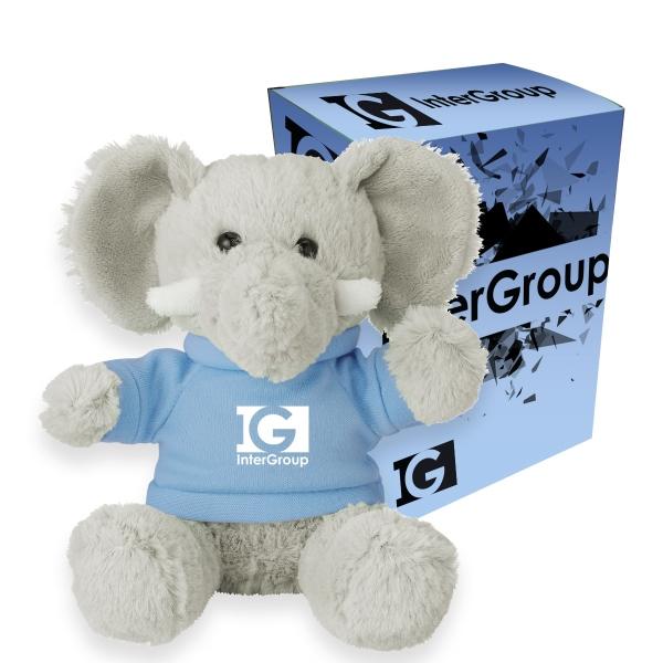 "6"" Excellent Elephant With Custom Box"