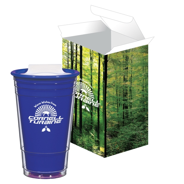 16 oz. Resort Tumbler With Custom Box