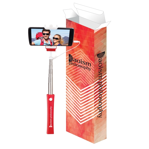 Selfie Stick With Custom Box