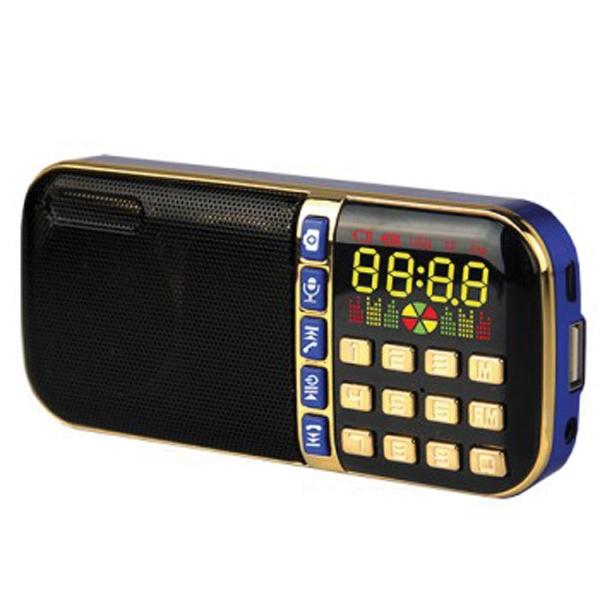 Portable Bluetooth Speaker-FM Radio