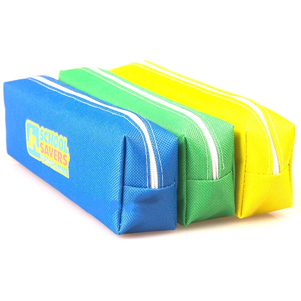 Pencil Bag With Zipper Closure