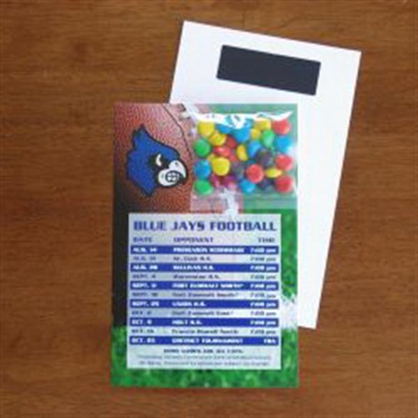 Mini Bag M&Ms on Stick Up Card