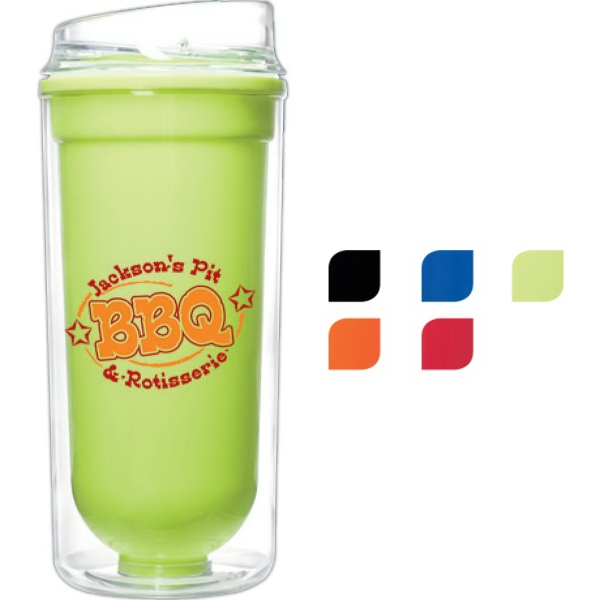 16 oz. Double Wall Bright Tumbler