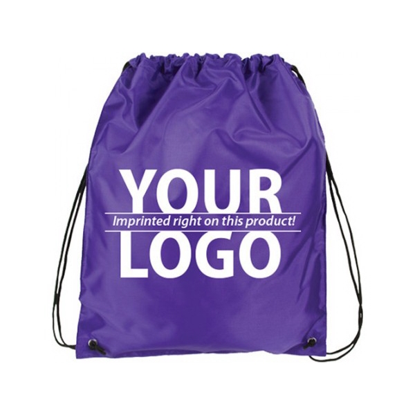 Nylon drawstring bag with Reinforced Corner