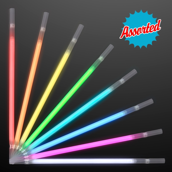 Glow Straw ASSORTED COLOR Party Packs
