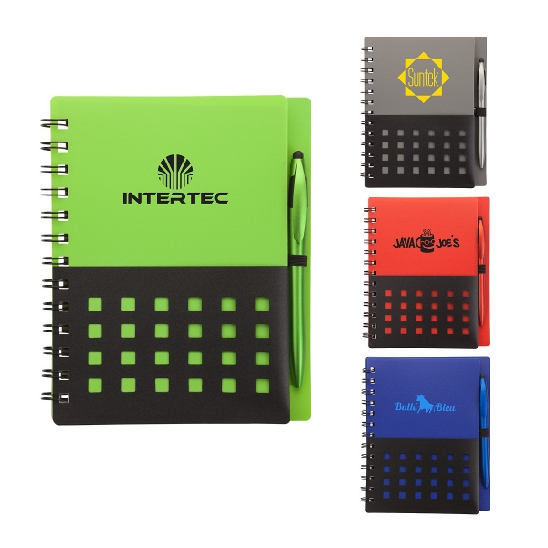 Tonga Junior Notebook & Stylus Pen