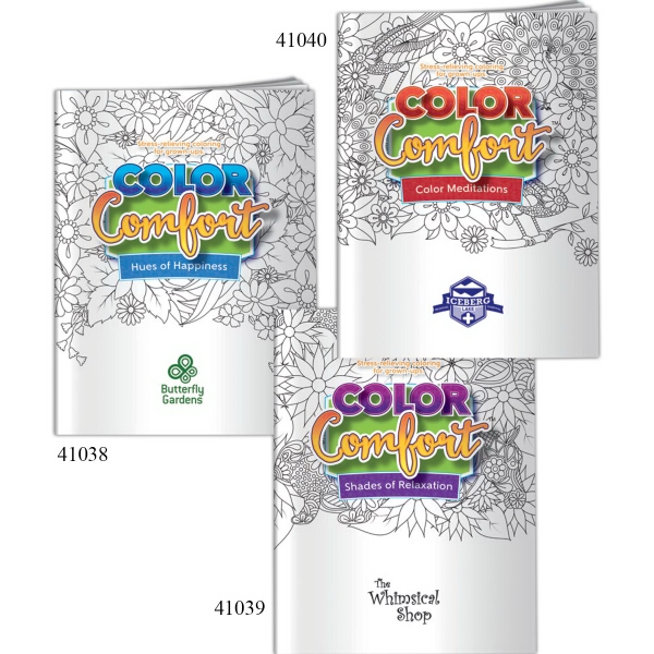 Color Comfort (TM) Coloring Book