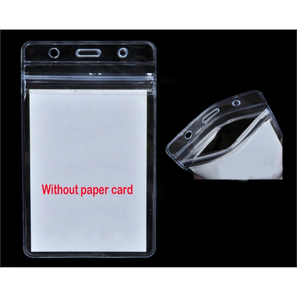 Sealable Waterproof ID Card Holder
