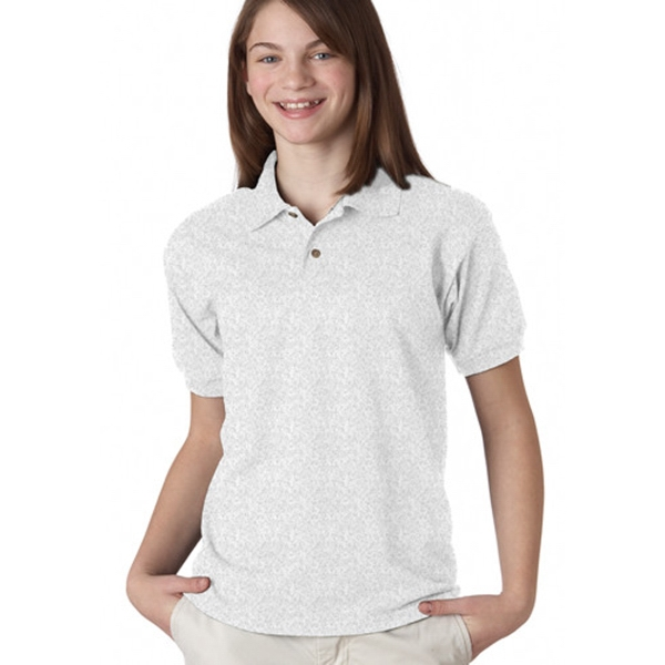 5.6 oz. Youth 50/50 Cotton/Polyester Blend Polo Shirt