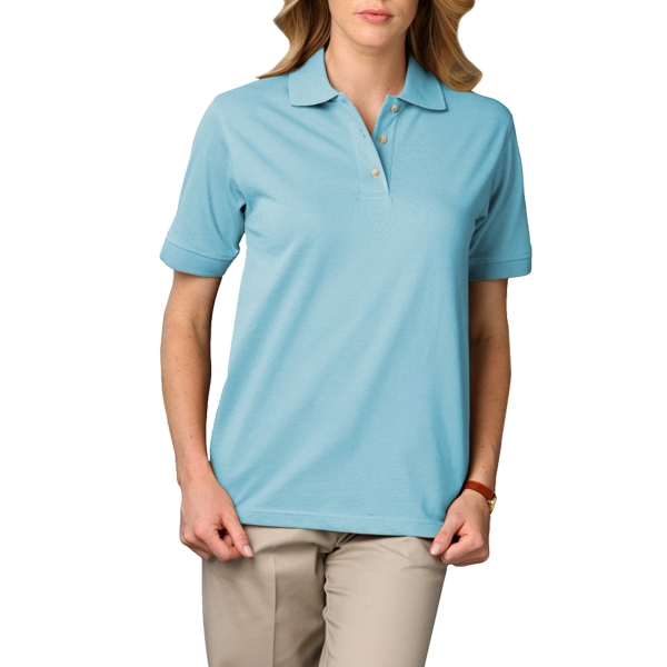 Blue Generation Ladies Short Sleeve Superblend Polo