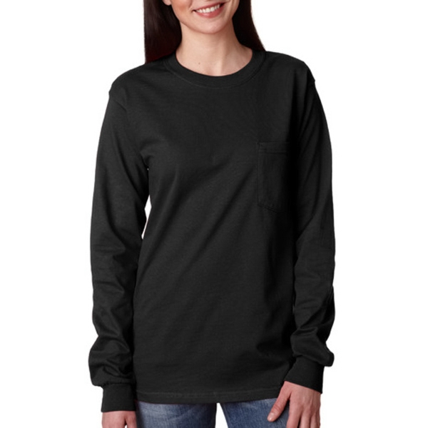 Gildan Ultra Cotton Long Sleeve Adult T-Shirt