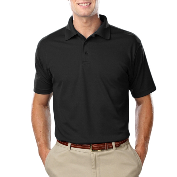 Blue Generation Men's Value Moisture Wicking Polo Shirt
