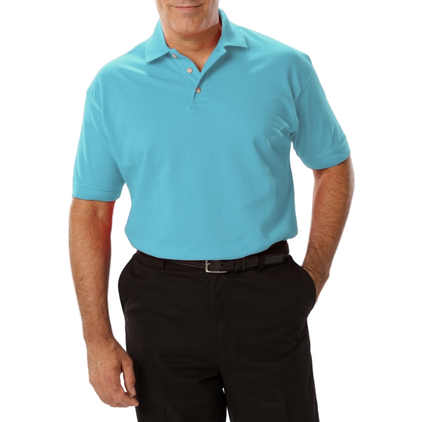 "Blue Generation Men's Short Sleeve ""Superblend"" Polo Shirt"