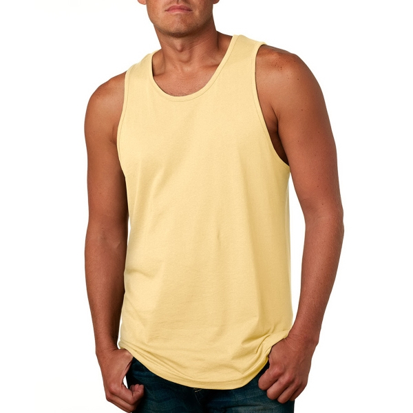Next Level Men's Jersey Sleeveless Top