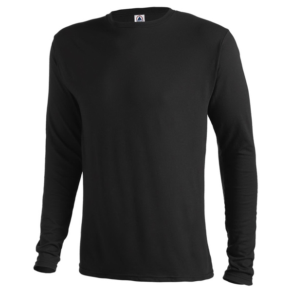Custom 30/1's 4.3 oz. Unisex Adult L/S 65/35 Performance Tee