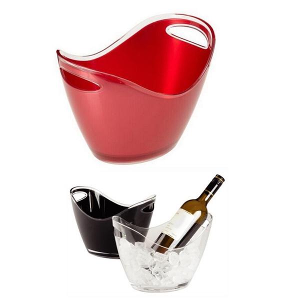 1 Gallon Plastic Ice Bucket