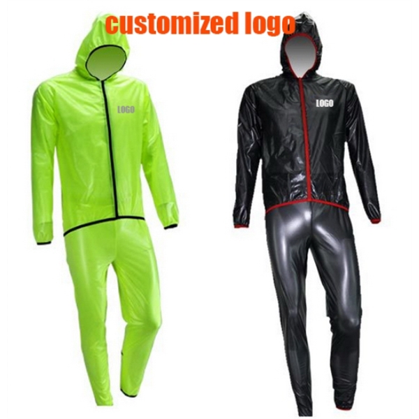 Function sport raincoat,Riding Raincoat,Reflective Strip