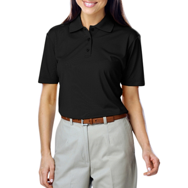 Blue Generation Ladies Value Moisture Wicking Polo