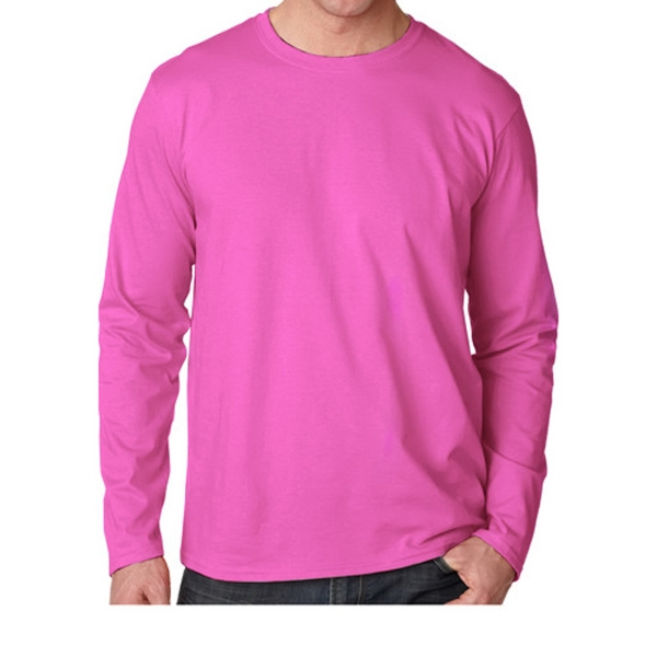 Gildan (R) SoftStyle (TM) 4.5 oz. Adult Long Sleeve T-Shirt