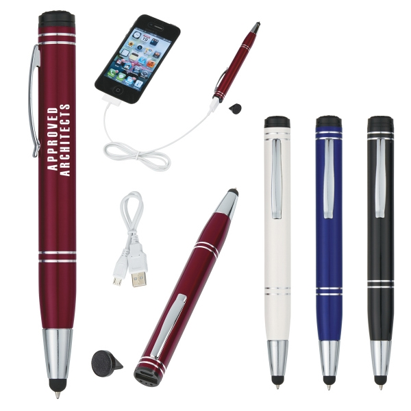 Power Buddy Power Bank Stylus Pen