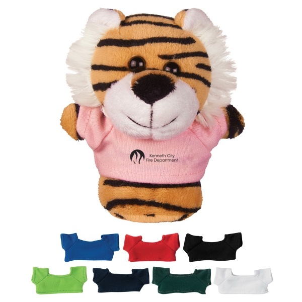 "4"" Mini Plush Buddies Tiger"