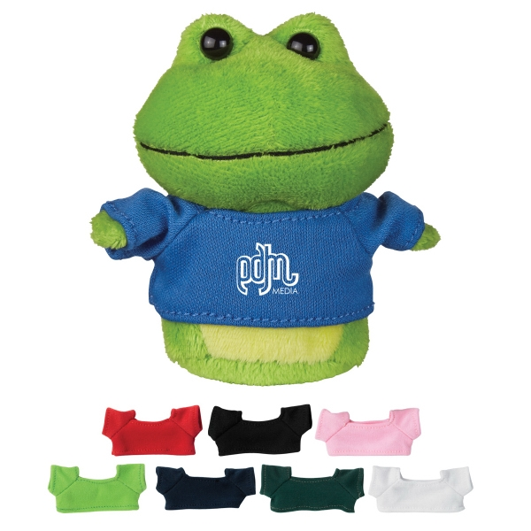 "4"" Mini Plush Buddies Frog"