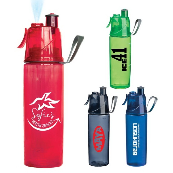 O2 Cool Mist N' Sip Hydration Bottle