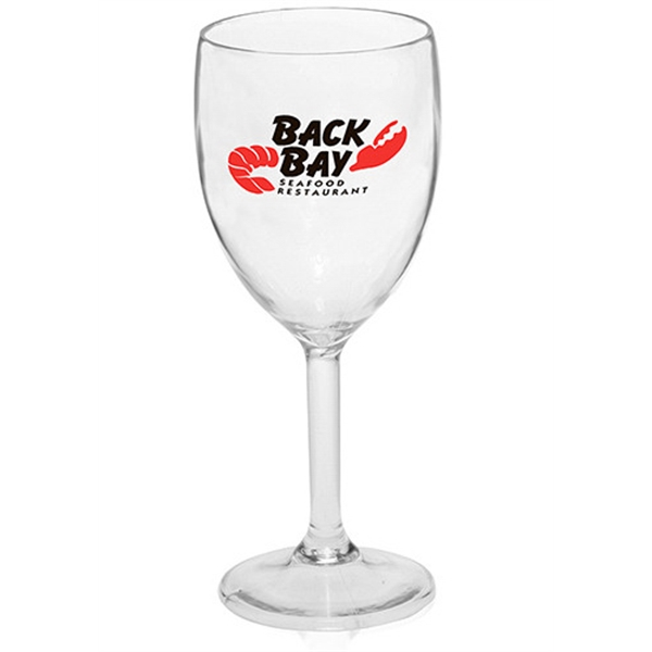 10 oz PS Plastic Wine Glasses