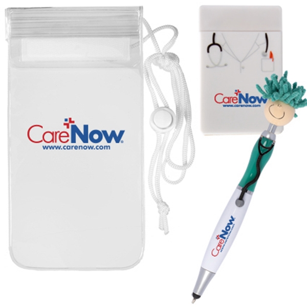 Mop Topper (TM) Doctor Pen & Phone Pouch