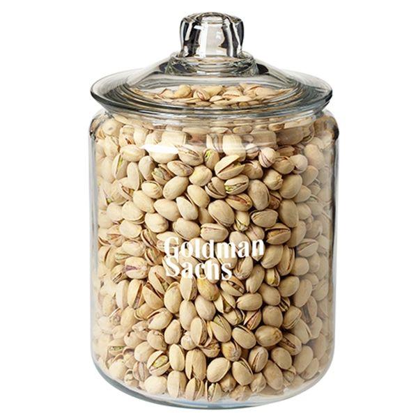 Gallon Glass Jar - Pistachio Nuts