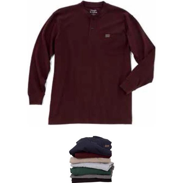 Riggs Workwear® Long Sleeve Henley