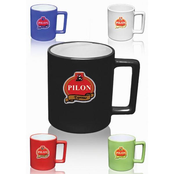 11 oz Newport Square Handle Coffee Mug