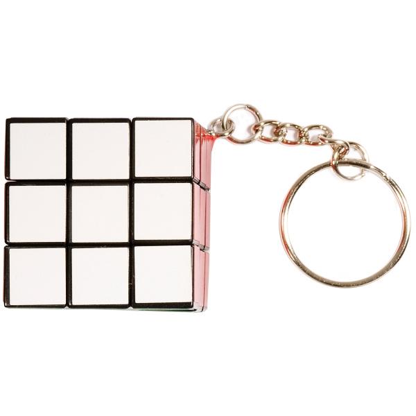 Micro Rubik's® Cube Key Holder - Micro sized Rubik's® Cube key holder.