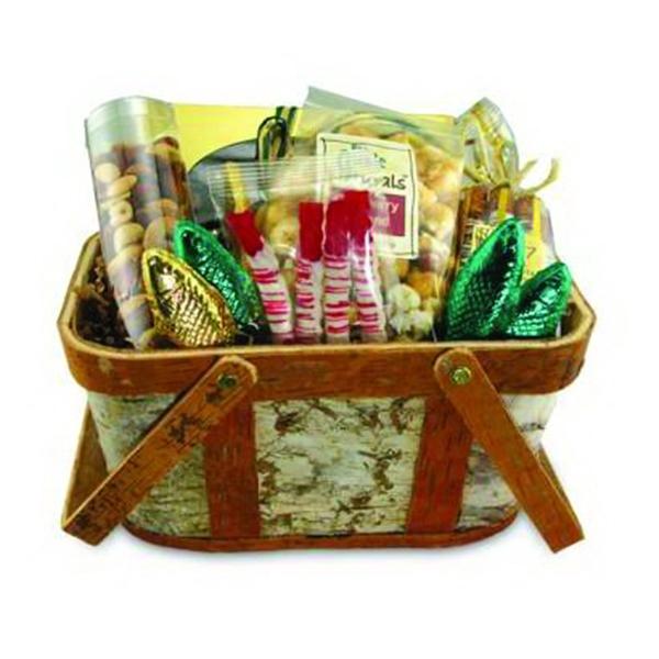 Custom centerpiece and gift basket