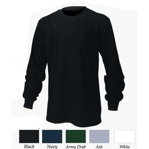 Cotton Tee in Long Sleeve