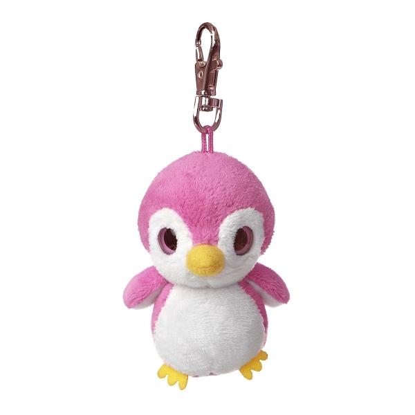 """3"""" Kookee Pink Penguin Keychain"""