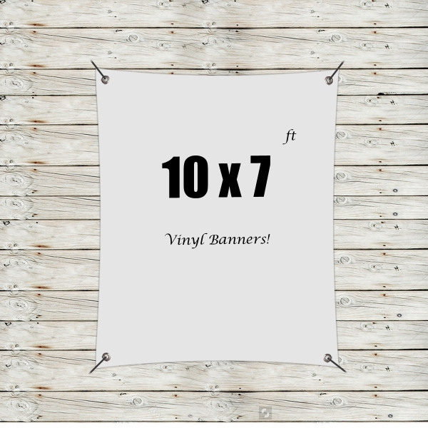 Custom 10' x 7' Vinyl Banners