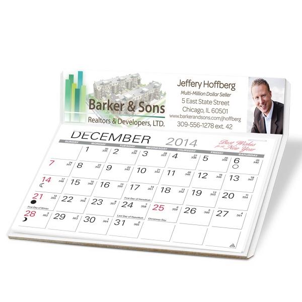 4-Color Process Desk Calendar
